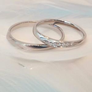 ブライダル ブライダル 指輪 フェア : 王道のシンプルなデザインです ...
