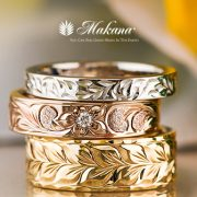 ファンション性あふれるハワイアンジュエリーをご紹介【婚約指輪・結婚指輪のJKプラネット】