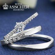 ついにJKPlanet銀座本店にて取り扱い開始!『ロイヤル・アッシャー・ダイヤモンド』の婚約・結婚指輪