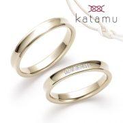 丈夫な鍛造製法で作られているブランド、Katamu-カタム-【結婚指輪のJKプラネット】