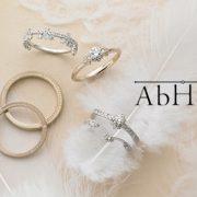 自然をモチーフにしたブランド【AbHeri~アベリ~】のエンゲージリング!