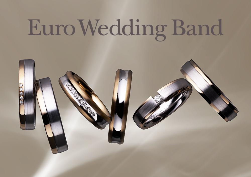 ユーロウェディングバンド - Euro Wedding Band【鍛造製法】