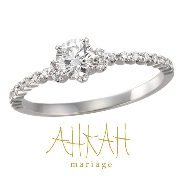 Amour Engagement Ring プラチナ