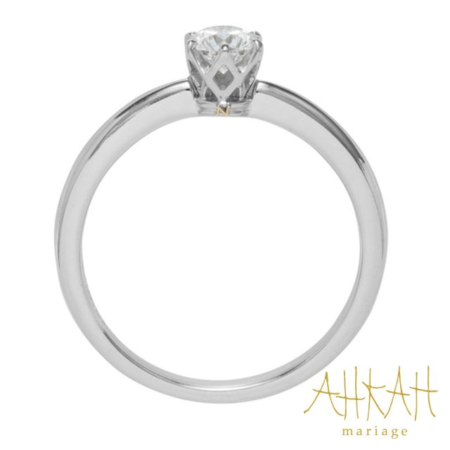 Royal Engagement Solitaire Initial Ring プラチナ