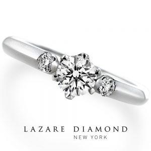ラザールダイヤモンド 婚約指輪 LD093PRD