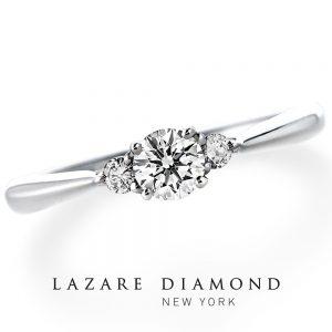ラザールダイヤモンド 婚約指輪 LD242PRD