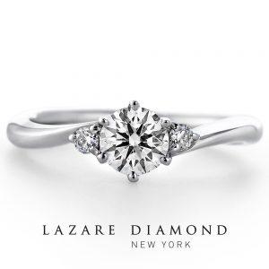 ラザール ダイヤモンド 婚約指輪 LD384PRD