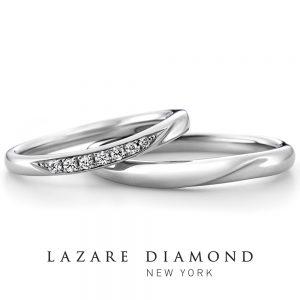ラザールダイヤモンド 結婚指輪 LD530PRL/PPM