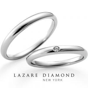 ラザールダイヤモンド 結婚指輪 LG015PR/016PR