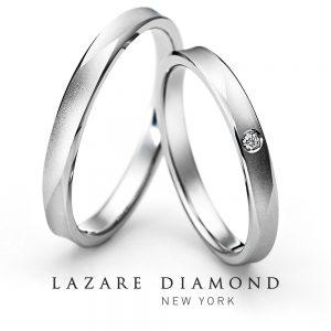ラザールダイヤモンド 結婚指輪 LG021PR/022PR