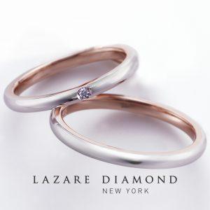 ラザールダイヤモンド 結婚指輪【バーベナ- VERBENA】PJ14CRL/14CRM