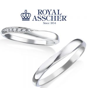 【NEW】ロイヤルアッシャー 結婚指輪 WRA069/WRB059