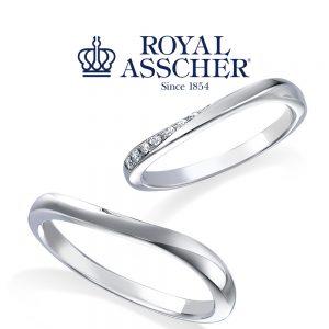 【NEW】ロイヤルアッシャー 結婚指輪 WRA070/WRB060