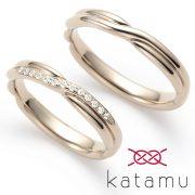 着け心地もこだわりぬいたブランド、Katamu・カタム【婚約指輪・結婚指輪のJKプラネット】