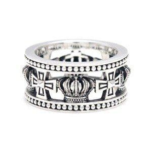 Medieval Wedding Band Ring メディーバルウェディングバンド