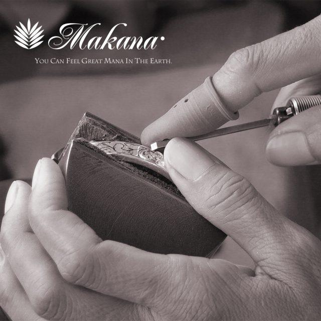 マカナ コンビマリッジリング 1:ハワイアンジュエリー
