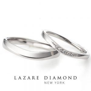 ラザールダイヤモンド 結婚指輪【ペルセウス- PERSEUS】LD721PRL/721PRM