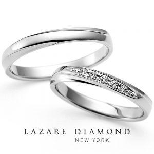 ラザールダイヤモンド 結婚指輪 LG023PR/024PR