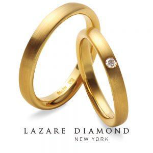 ラザールダイヤモンド 結婚指輪【チャネルガーデン- CHANNEL GARDEN】LH003KR/003KR