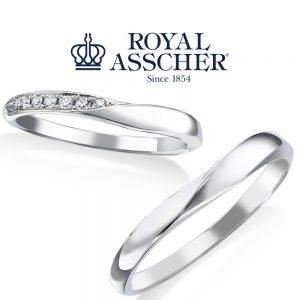 【NEW】ロイヤルアッシャー 結婚指輪 WRA059/WRB069