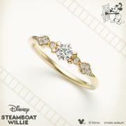 ディズニースチームボートウィリー(ミッキー&ミニー)の婚約・結婚指輪が新しくなりました💍【JKプラネット表参道・銀座・九州/ブライダルリングセレクトショップ】